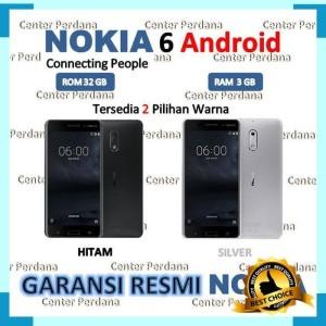 Nokia 6 Ram 3 Rom 32 Garansi Resmi Tam 1tahun Tokopedia