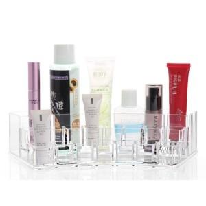 Tp038 Tempat Kosmetik Lipstik Akrilik 1 4 Lingkaran Cosmetic Organizer Tokopedia