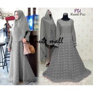 Abaya Gamis Syari Baju Muslim Black Tokopedia