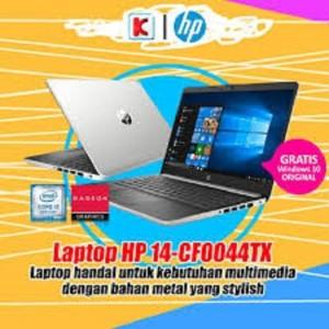Hp 14s Cf0044tx Silver Tokopedia
