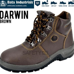 Sepatu Safety Bata Darwin Brown Tokopedia