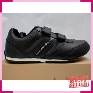 Sepatu Sekolah Ando Diva Light 33 36 Sepatu Sekolah Anak Perempuan Sepatu Sekolah Sd Hitam Tokopedia