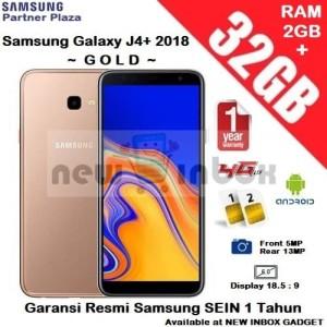 Samsung Galaxy J4 Plus Garansi Resmi Sein Tokopedia
