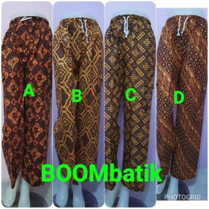 Celana Panjang Batik Betawi Celana Boim Untuk Dewasa Tokopedia