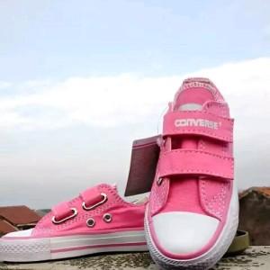 Sepatu Anak Converse Perempuan Putih Pink Tokopedia