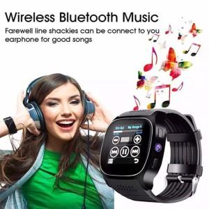 Jam Smartwatch T8 Kamera Support Sim Card Bluetooth Mp3 Pedometer Tokopedia
