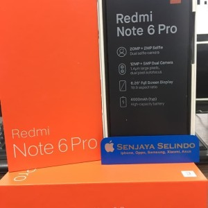 Xiaomi Redmi Note 6 Pro 64gb 4gb Ram Tokopedia