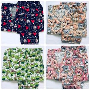 Baju Tidur Piyama Celana Pendek Tokopedia