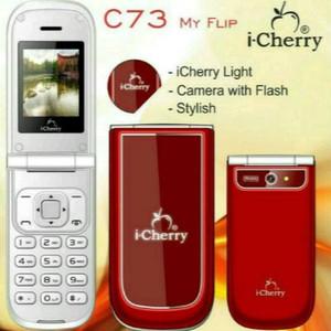 Handphone I Cherry C73 Flip Tokopedia