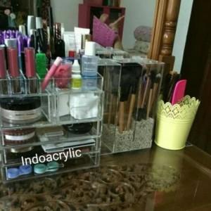 Termurah Akrilik Kosmetik Organizer Ksp Tokopedia