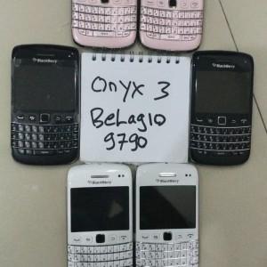 Blackberry Bb Belagio Onyx3 9790 3g Original Ex Resmi Tokopedia