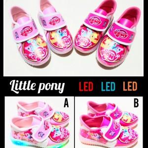 Sepatu Anak Perempuan Little Pony Boots Kanvas Tokopedia