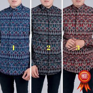 Kemeja Batik Pria Baju Batik Kantor Tokopedia