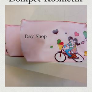 Dompet Kosmetik Sepeda Cinta Tas Kosmetik Sepeda Cinta Tokopedia
