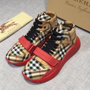 Produk Sepatu Casual Pria Cowok Burberry Kw Mirror Ori Leather ... 15d2653fc6