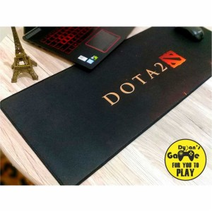 Jual Mouse Pad / Mousepad Gaming Panjang Motif DOTA 2 Size 80 x 30 Cm