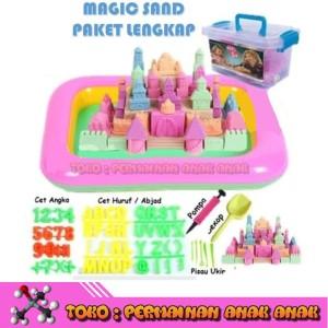 ... Jual Pasir Kinetik 1kg Play Magic Sand Pasir Ajaib Game Mainan Anak Edukasi
