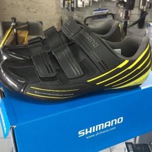 Sepatu Roadbike Shimano Rp2 Black Yellow Tokopedia