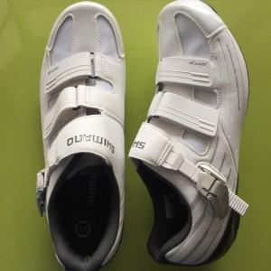 Sepatu Shimano Rp3 White Blanc Size 42 Tokopedia