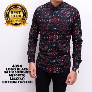 Baju Batik Kemeja Batik Kerja Tokopedia