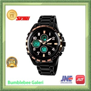 Jam Tangan Pria Skmei Men Sport Analog Watch Water Resistant Ps022 Tokopedia