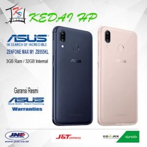 Asus Zenfone Max M1 Zb555kl Ram 3gb Rom 32gb Garansi Resmi Tokopedia