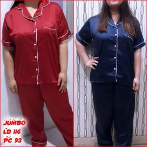 Baju Tidur Piyama Satin Baju Panjang Celana Panjang Setelan Tokopedia