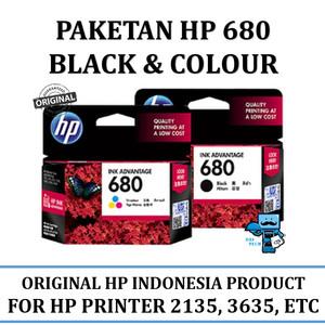 Tinta Hp 680 Colour Tokopedia