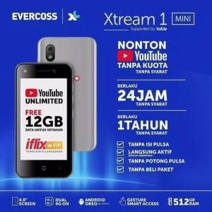 Hp Murah 4g Evercoss Xtream 1 S45 1 8gb Garansi Resmi Termurah Tokopedia