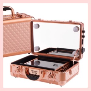 Hot Sale Beauty Case Tempat Makeup Kotak Kosmetik 2356 Putih Tokopedia