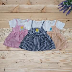 Baju Bayi Baju Dress Bayi Perempuan Pakaian Dress Bayi Perempuan Polkadot Tokopedia