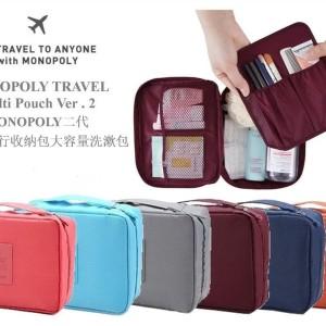 Diskon Tas Kosmetik Travel Organizer Multi Pouch Tokopedia