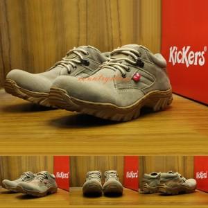 Sepatu Boots Pria Kickers Boots Safety Kulit Tokopedia