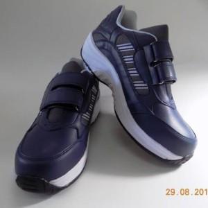 Sepatu Safety Rikionis 2057 Navy Dk Gry Wht Tokopedia