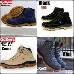 Sepatu Boot Kickers Suede Tokopedia