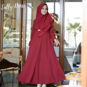 Baju Muslim Wanita Sally Syari Tokopedia
