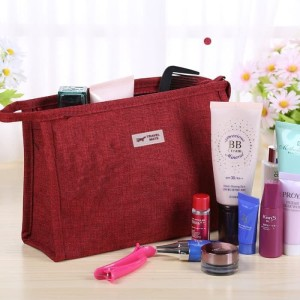 Promo Simple Cosmetik Pouch Tas Kosmetik Denim A591 Tokopedia