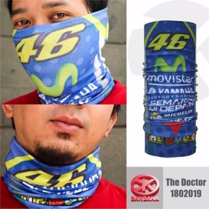 CK Bandana 1802019 Buff Masker Multifungsi The Doctor CHAD
