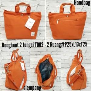 Jual Terbaru N Terlaris Tas Doughnut 2 In 1 Import 1 Ruang Hand Bag  7e2c7749fe