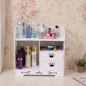 Promo Mh 527 Rak Kosmetik Desktop Storage Megahome Limited Tokopedia