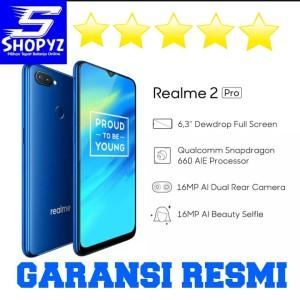Oppo Realme 2 Pro 4 64gb Blue Ice Lake Tokopedia
