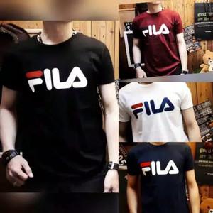 Baju Kaos Tshirt Fila Tokopedia