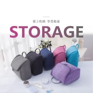 Terlaris Korean Toiletries Bag Travel Tas Kosmetik Perlengkapan Mandi Tokopedia