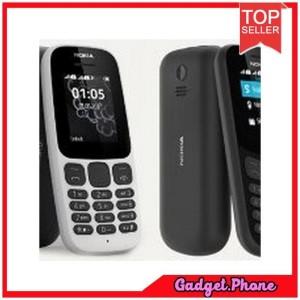 Nokia 105 Ds 2017 Edition Black Garansi Resmi Tokopedia