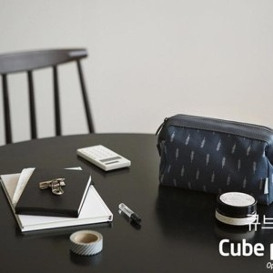 Dompet Kosmetik Tahan Air Bentuk Cube Tas Peralatan Make Up Tokopedia
