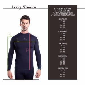 Tiento Baselayer Manset Compression Baju Kaos Ketat Olahraga Gym Zumba Running Fitness Futsal Renang Diving Long Sleeve Pink Fanta Original Tokopedia