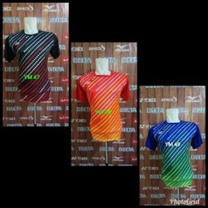 Baju Yonex Kostum Olahraga Bulutangkis Kaos Badminton Terbaru Tokopedia