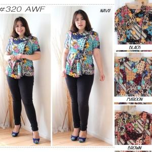 Baju Batik Wanita Blouse Batik Tokopedia
