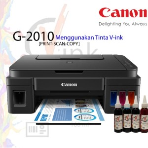 Printer Canon G2010 Print Scan Copy V-ink Use