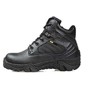 Sepatu Delta Force Tactical Outdoor 6 Inc Black Hitam Tokopedia